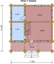 Проект Мираж - План 1 этажа